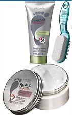 Feet Up Advanced Cracked Heel Repair Foot Cream, Foot Mask & Pumice by Oriflame
