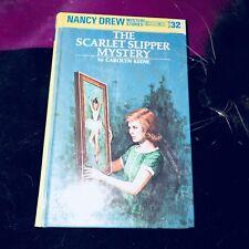 The Scarlet Slipper Mystery By Nancy Drew Vintage Book