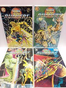Sun Runners #1 2 3 4 Comic Book Set Pacific 1984