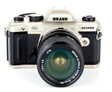 Spiegelreflexkamera BRAUN SR 2000 MD Objektiv ULTRALIT ZOOM 28-70mm MC 1:3.3-4.8