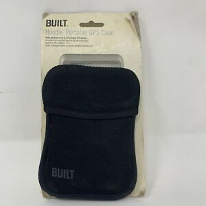 """Black Neoprene GPS Hoodie Case #5650 by Built NY ~ Protects Devices Up To 4.3"""""""