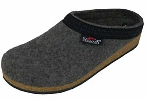 Stegmann Women's Wool Clog Cork Sole / L108 Grey