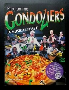 Gondoliers A Musical Feast programme Apollo Theatre 2001 Christopher Dickens