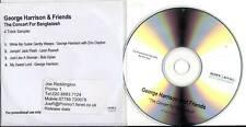 George Harrison 4trk PROMO CD SAMPLER The Concert For Bangladesh BEATLES