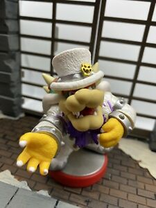 Nintendo Amiibo Bowser Wedding Outfit Super Mario Odyssey Figure   Switch   3DS