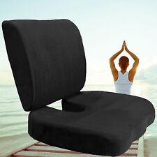 Car Office Home Memory Foam Seat Chair Waist Lumbar Back Support Cushion USA HM