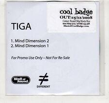 (GV541) Tiga, Mind Dimension 1 & 2 - 2008 DJ CD