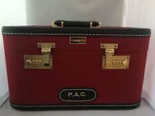 T. Anthony Beauty Case-Reduced-Red-Made In USA - Luggage - New Retails $1,200