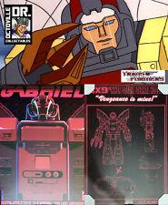 Transformers Masterpiece DX9 D12 Gabriel / MP Omega Supreme ex display