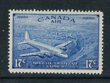 Canada - 1946 -17¢ Air Post Special Delivery - SC CE4 [SG S17] MNH B4
