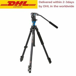 BENRO A1573FS2 Video Tripod Aluminum Camera Tripods With S2 Video Head
