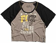 Fox Racing Womens Juniors Strike Top Brown XS