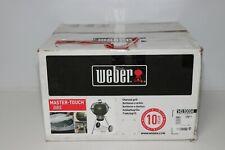 Weber 14510004 Master-Touch GBS Holzkohlegrill 57 cm Smoke ohne Deckel und Griff