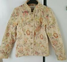 PHASE EIGHT FLORAL PATTERN JACKET BUTTON FASTENING UK 10 IN LOVELY CONDITION