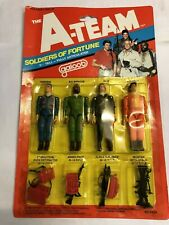 Vintage The A Team Carded Figures Galoob 1983 moc sealed card Retro Rare