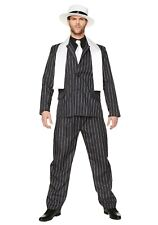 Adult Gangster Boss Mobster Costume SIZE MEDIUM (with defect)