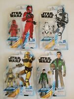 NIP Disney Star Wars Resistance Figures lot of 4 Stormtrooper, Kaz, Vonreg, Pyre