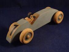 RARE ancien jouet voiture de course en bois années 30 style Vilac Germany