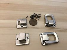 2 Pieces Y&N silver hasp small box hardware lock latch latches catches A11