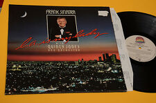 FRANK SINATRA LP WITH QUINCY JONES ORIG 1984 GATEFOLD+INNER TESTI TOP EX+