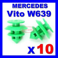MERCEDES VITO VIANO W639 DOOR CARD PANEL TRIM CLIPS REAR TAILGATE INTERIOR