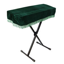 61-key Electronic Piano Keyboard Cover dustproof Musical Parts Deep Green