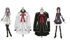 Vampire Knight Cosplay Yuki Kuran Black White Uniform Halloween Suit  Costume