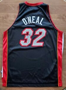 Shaq Shaquille O'Neal Signed Miami Heat Jersey NBA HOF Lakers Celtics LEGEND RAD