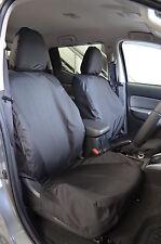 Mitsubishi L200 2015 Onward Series 5 Mk 7 Black Tailored Pair Front Seat Covers