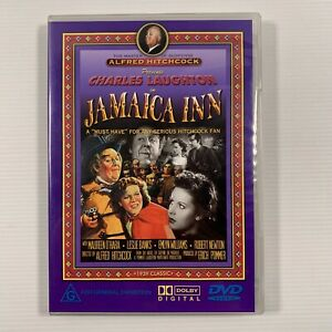Jamaica Inn (DVD, 2001) 1939 Alfred Hitchcock Film Maureen O'Hara Region ALL