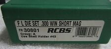 RCBS F L Die Set .300 WIN Short Mag 30801
