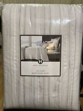 New ListingHotel Collection Quilted Cotton Stripe Size King Brand New With Tag Msrp $360.