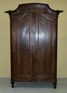 importante antico armadio Luigi XVI 1800 in noce massello