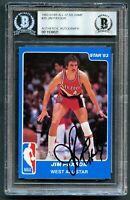 Jim Paxson #20 signed autograph 1983 Star All-Star Game Basketball Card BAS Slab