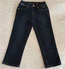Justice Girls Jeans Skinny Straight Leg Dark Wash Blue Jeans Size 10S