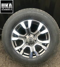 FORD RANGER WILDTRACK BORBET ALLOY WHEEL AND TYRE M+S 265/60/R18 X1 SPARE SINGLE