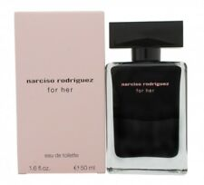 NARCISO RODRIGUEZ FOR HER EAU DE TOILETTE 50ML SPRAY - WOMEN'S FOR HER. NEW
