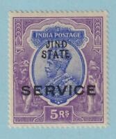 INDIA JIND O33 MINT NEVER HINGED OG * NO FAULTS EXTRA FINE!