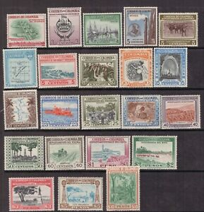 Colombia,Scott#644-665,MNH,Scott=$41