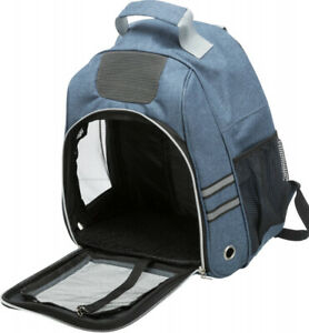 Trixie Dan Blue Backpack Carrier 38x50x26cm Max 6 kg - Small Dog Cat Puppy