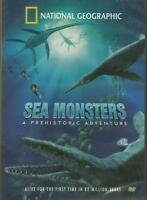 Sea Monsters & Prehistoric Adventures DVD (New Sealed)Free Shipping