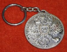 Porte-clé KEYCHAIN CANARD-DUCHÊNE 1868 CHAMPAGNE Blason 2 vilains Piafs Aigles