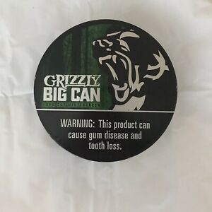 Grizzly Big Can 6 In 1 Long Cut Wintergreen Limited Edition Collectible