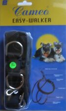 CAMEO EASY-WALKER WALKING HARNESS  BLACK  EXTRA LARGE