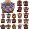 Boho Tribal Ethnic Choker Statement Pendant Necklace Weaving Tribe Women Jewelry