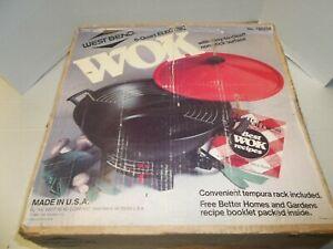 New1988 West Bend 6 Quart Electric Wok model 79525X