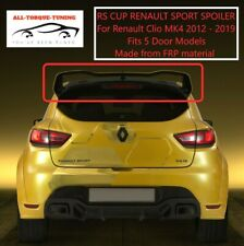 For RENAULT CLIO 2012 MK4 RS CUP TROPHY STYLE REAR BOOT LID SPOILER LIP WING