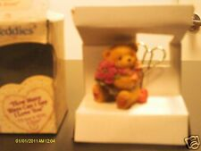 Cherished Teddies ` HOW MANY WAYS CAN I SAY 'I LOVE YOU' I'll say it with a ROSE