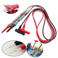 Digital Multimeter 1000V 20A Test Lead Cable Probe Pen Needle Tip Wire Pen ST514