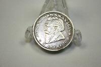 Vintage Lithuanian Silver Coin 5 Litai Dr. Jonas Basanavicius 1936, Collection.